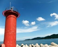 한여름 바닷가 나들이와 철지난 여름,바이크로 반국일주(조금 스압)