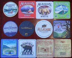 맥주코스터 컬렉션 1 - 미국 등 비유럽