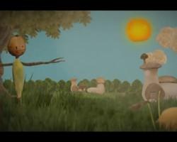 처음 만든 애니메이션이 자랑.