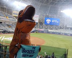 한국시리즈 우승 직관의 공룡왔다