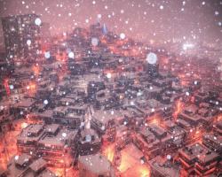 [스압] 눈 와서 갈기고 왔다