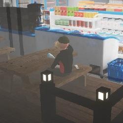 여고생 2명이 편의점에서 술 사는 만화.manhwa