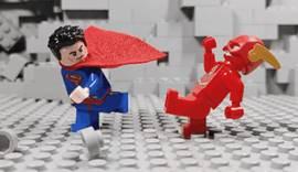 [스압] 플래시 vs 슈퍼맨