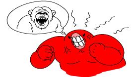 [썰만화/주갤발] 원숭이한테 쳐맞고 기절한 썰.manhwa